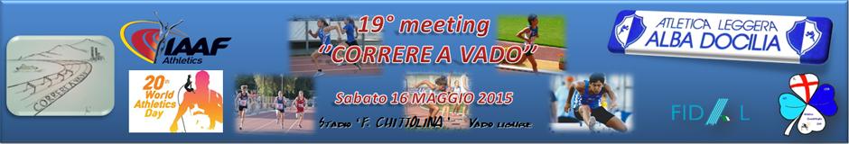 "19° meeting ""Correre a Vado"""