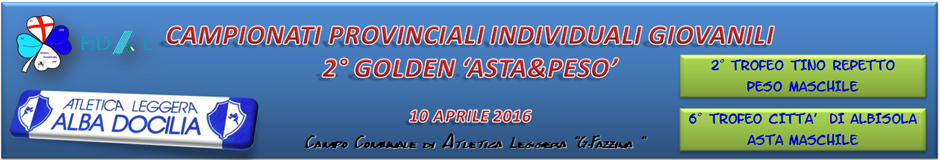 Golden Asta e Peso 2016