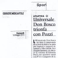 Universale Don Bosco trionfa con Pozzi