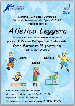Calendario Fidal Piemonte 2020.Atletica Don Bosco Universale Atletica Centro Ovest