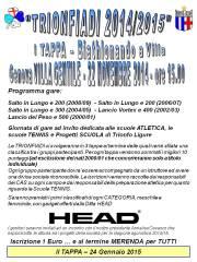 Trionfiadi I tappa - CORSA - 22 Novembre